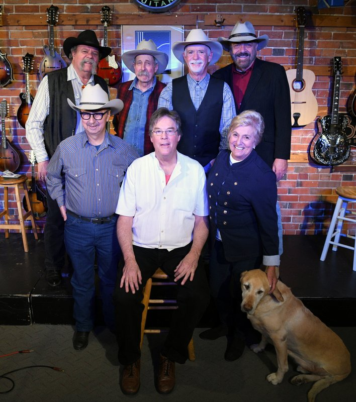 Back:  Johnny Neill, Pop Wagner, Mike Fleming, Jon Chandler;  Front:  Ernie Martinez, Kit Simon, Carol Heuchan