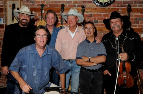 Jon Chandler, Kit Simon (low in front), Wyatt Easterling, Chuck Pyle, Ernie Martinez, Johnny Neill