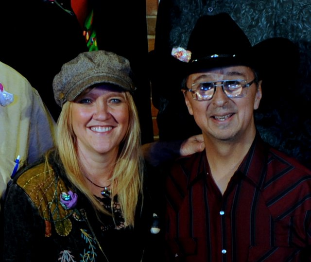 Mary Huckins, Ernie Martinez