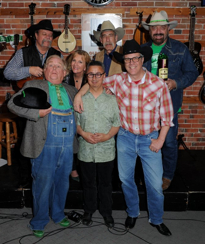 back: Johnny Neill, Jane Leche, Bill Barwick, Jon Chandler;  front:  Timothy P Irvin, Ernie Martinez, Jeff Graves