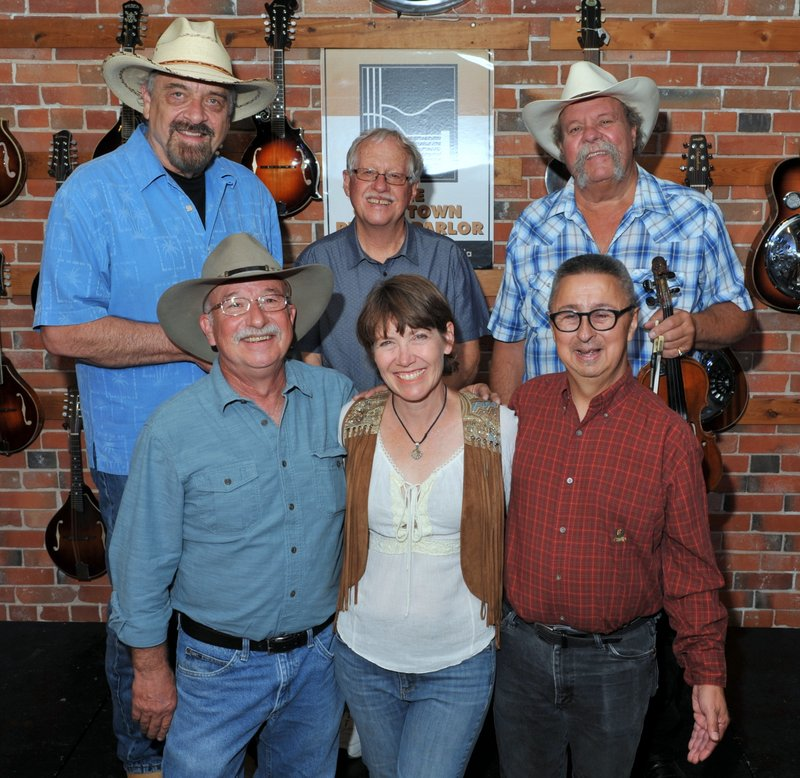 Back:  Jon Chandler, Steve Pierce, Johnny Neill;  Front:  Bob Cooke, Mary Gifford, Ernie Martinez