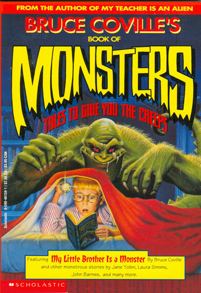 "Bruce Coville's Book of Monsters incl. ""Bloody Mary"" by Patrick Bone"
