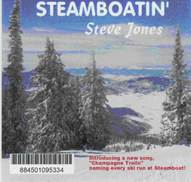 Steve Jones: Steamboatin' CD