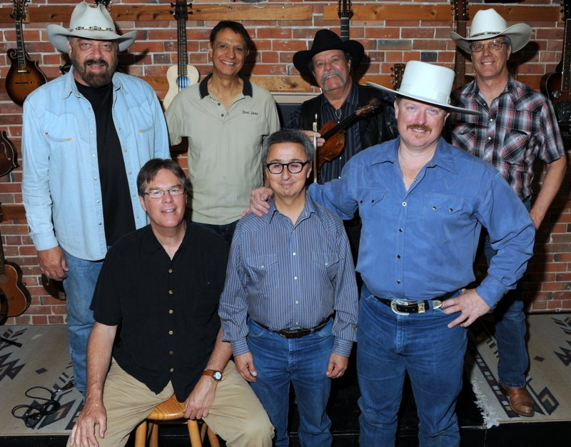Back:  Jon Chandler, Bill Ponterelli, Johnny Neill, Jeff Graves;  Front:  Kit Simon, Ernie Martinez, G.T. Hurley