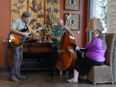 Sweet spot Trio, Duane Webster, Roxanne Staples Webster, John Bertram