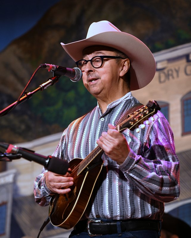 Ernie Martinez, Colorado Cowboy Poetry Gathering, 2019, Goloden CO