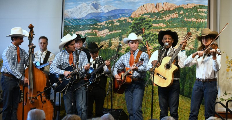 with Carlos Washington and The High Country Cowboys