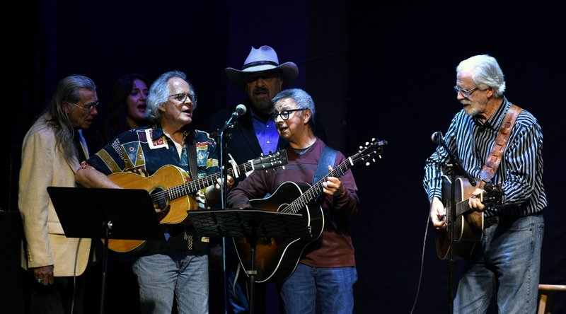 with Jerry Faires, Molly Watson, Jim Ratts, Jon Chandler, Jack Williams, Chuck Pyle Tribute Concert, Swallow Hill, Oct 2019