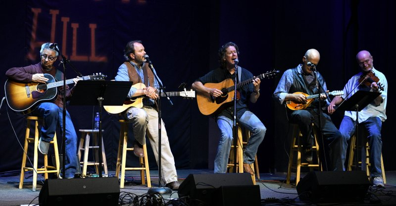 with Tom Munch, Jeff Troxel, Don Richmond, Gordon Burt, Chuck Pyle Tribute Concert, Swallow Hill, Oct 2019