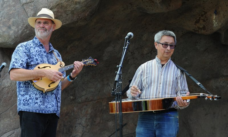 Ernie Martinez at HIgh Peaks Music Festival Sept 2014 with Drew Horton