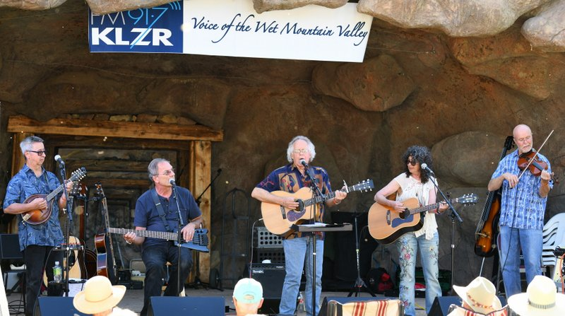 High Peaks Music Festival, Westcliffe CO, Sept 2019 with Runaway Express, Gordon Burt