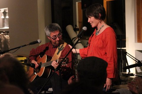 Mary Gifford and Ernie, house concert