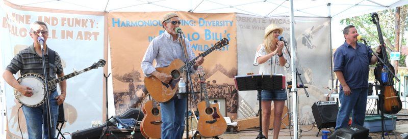 Mountain Melodies, Buffalo Bill Museum and Grave, Golden CO, Aug. 7, 2016, with Dakota Blonde