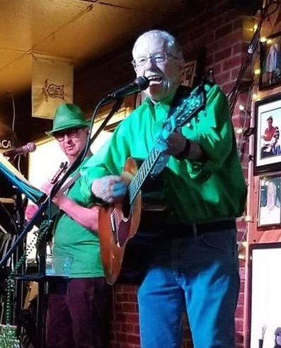 Ernie Martinez, Steve Pierce, Sheabeen's Pub, March 17, 2019