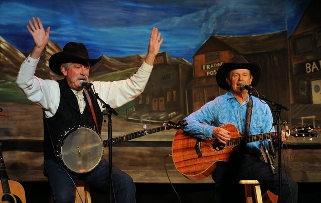 Yampa Valley Boysat Colorado Cowboy Poetry Gathering