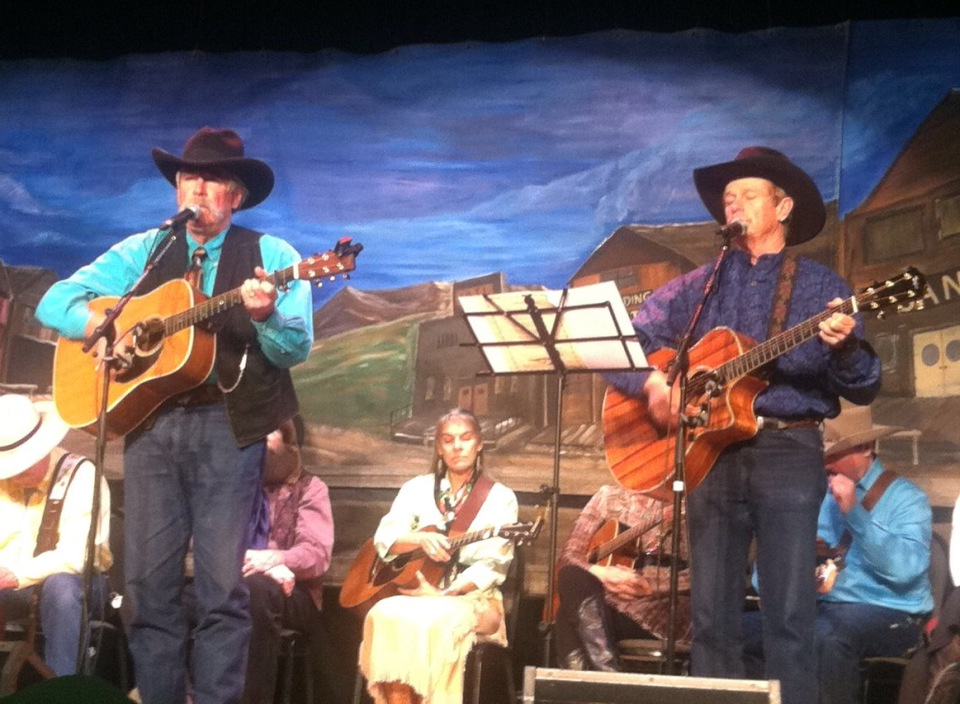 Yampa Valley Boys at Cowboy Church, Jan 2013