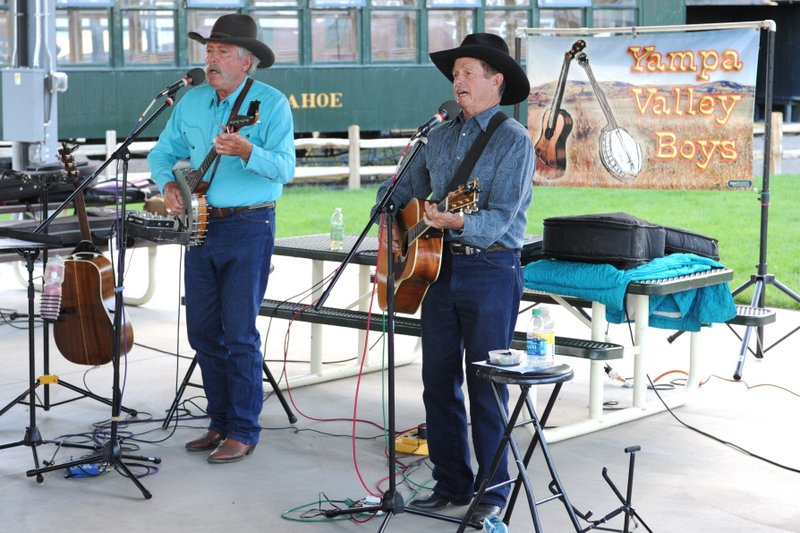 CCG member concert, Railroad Museum, Golden CO, August, 2016