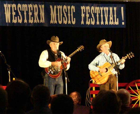 Western Music Association Opry:  Yampa Valley Boys