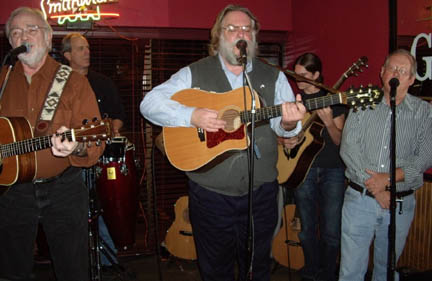Bob Turner, Jeff Graves, Jay Graham, Owen Graham, Steve Pierce at Pogue Mahone's