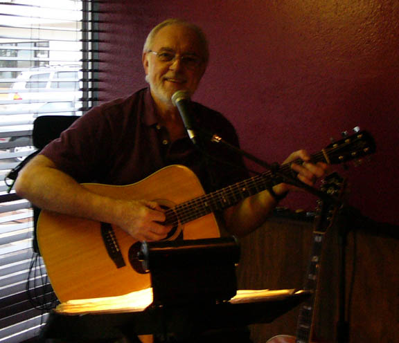 Bob Turner at Pogue Mahone Irish Pub