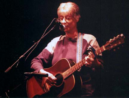 Sandy Reay (with guitar): Bands, Singers, Songwriters / Composers, Solo Performers, Sidemen, Instrumentalists, Performers, Entertainers, Musicians, Cowboy Poets