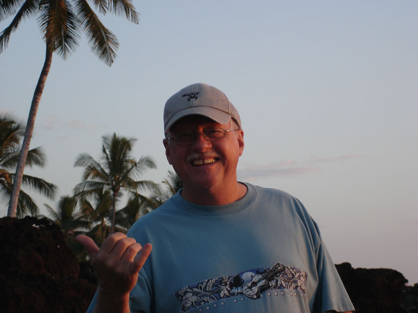 Steve Pierce in Hawaii Dec 2008